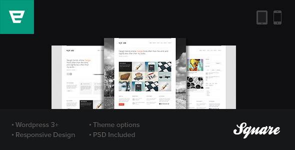 Square: Responsive WordPress Theme
