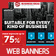 Multipurpose Business & Services Web Banners - GraphicRiver Item for Sale