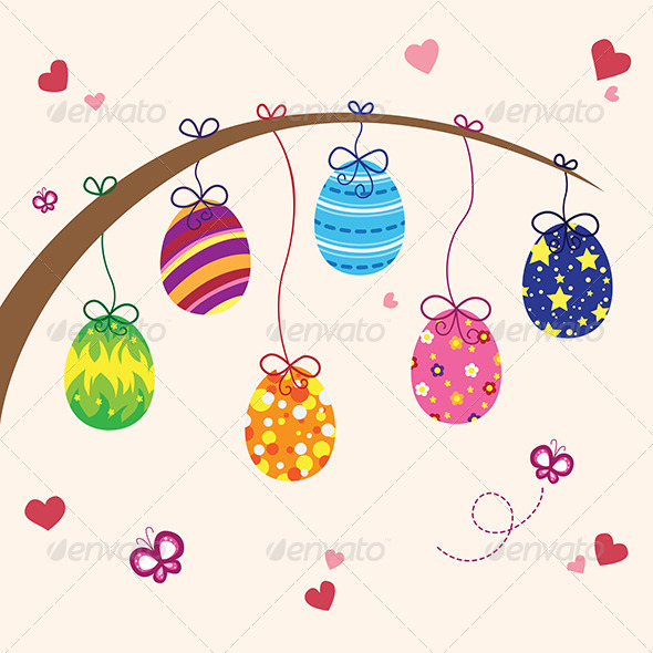 GraphicRiver Easter Eggs 6002928
