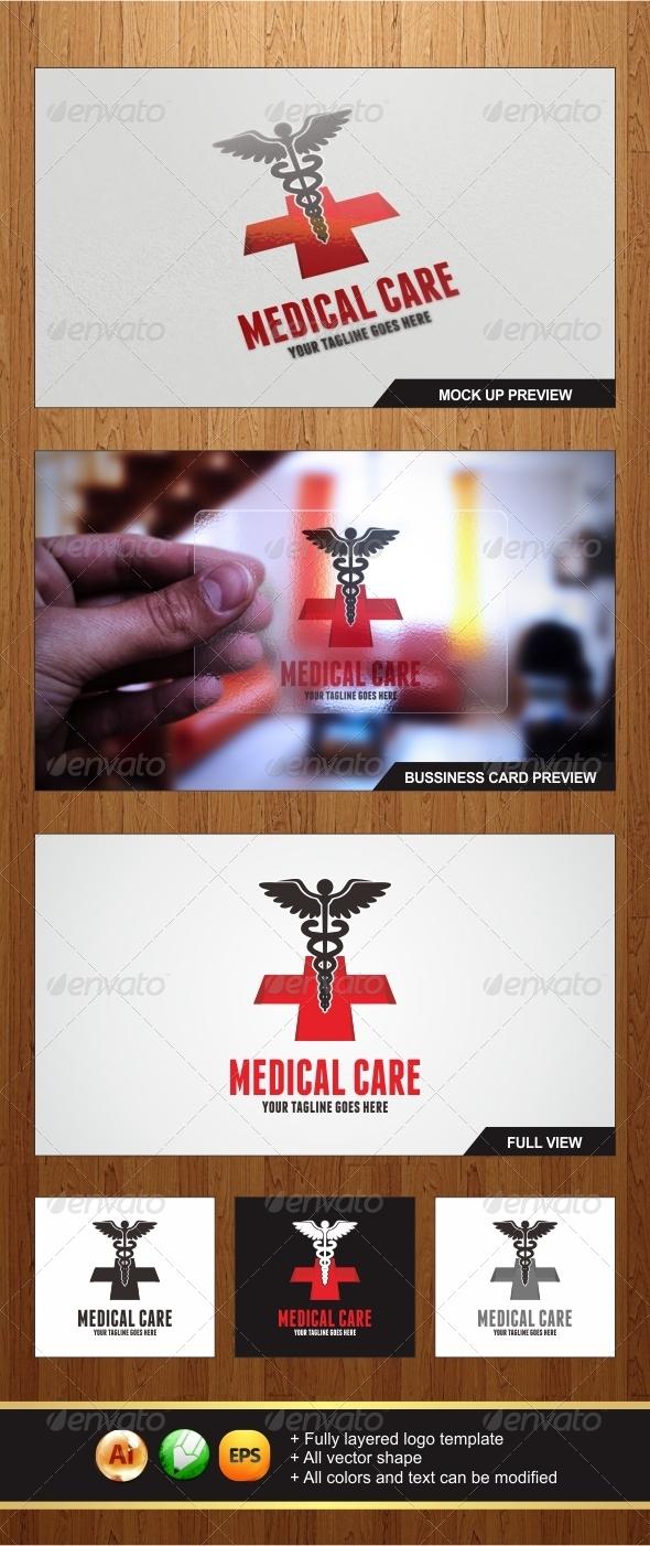 Medical Care Logo - Symbols Logo Templates