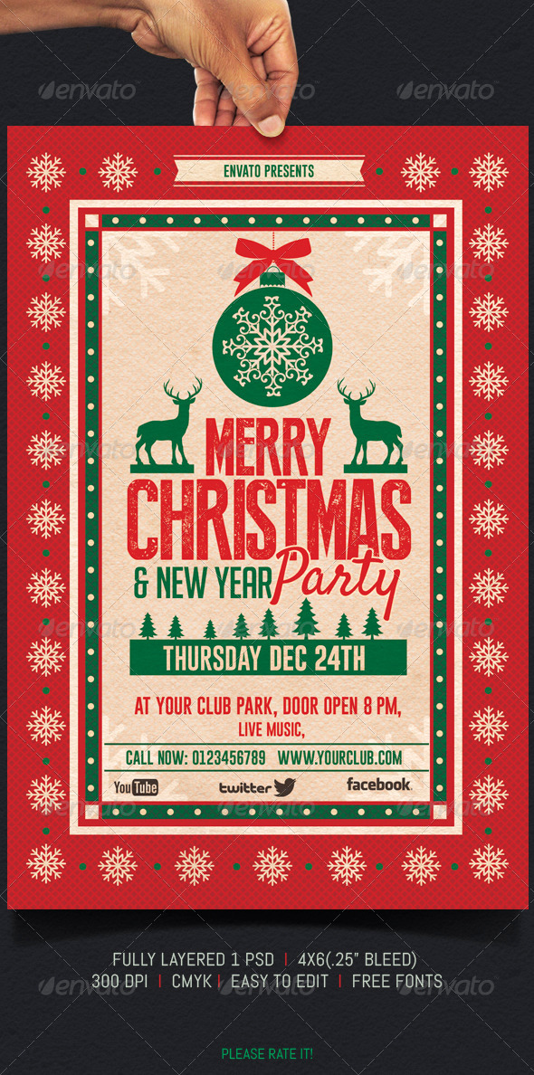 GraphicRiver Christmas Party 6003043