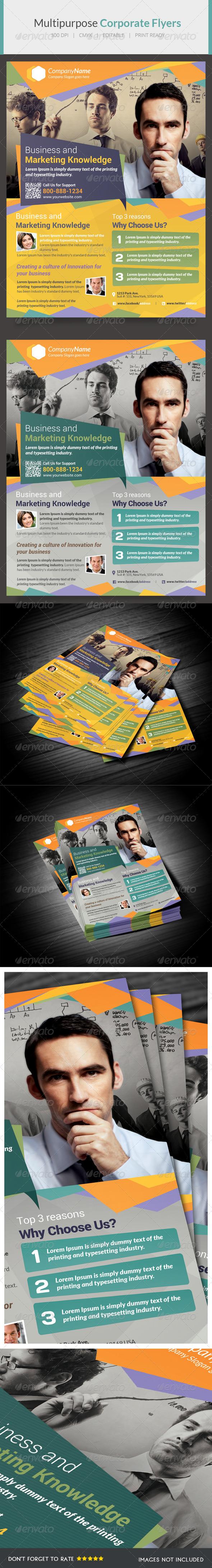 GraphicRiver Multipurpose Flyer IX 6003236