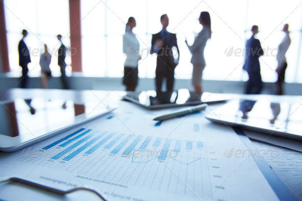 Document at workplace - Stock Photo - Images