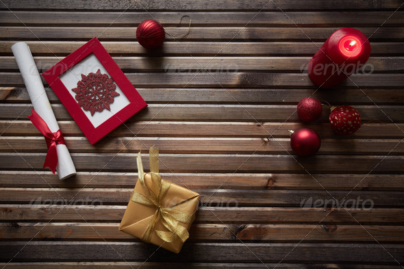 Symbols of holiday - Stock Photo - Images