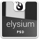 Elysium Multipurpose PSD Template