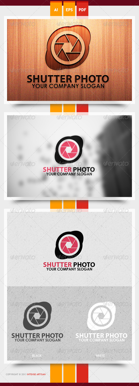 GraphicRiver Shutter Photo Logo Template 6005723