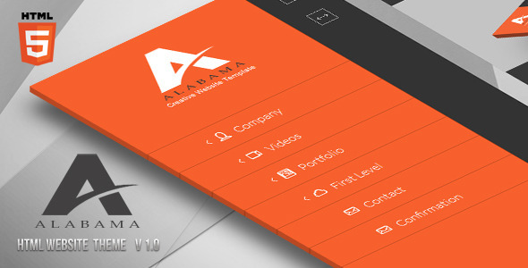 ThemeForest Alabama Creative HTML Template 6006975
