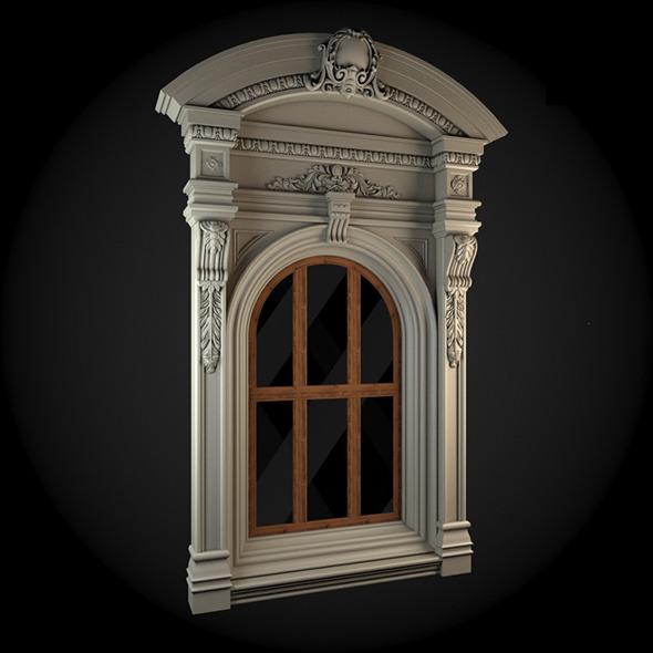Window 053 - 3DOcean Item for Sale