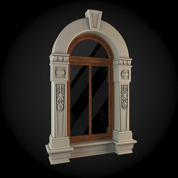 Window 054 - 3DOcean Item for Sale
