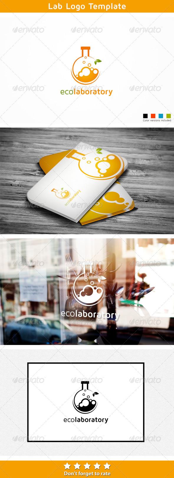 GraphicRiver Lab Logo Template 6007833