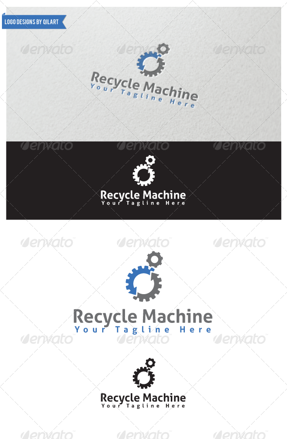 GraphicRiver Recycle Machine 5987157