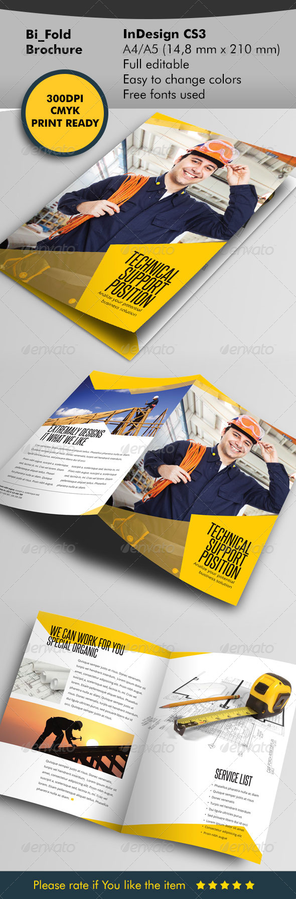 Develop Your Build Template Bifold - Informational Brochures