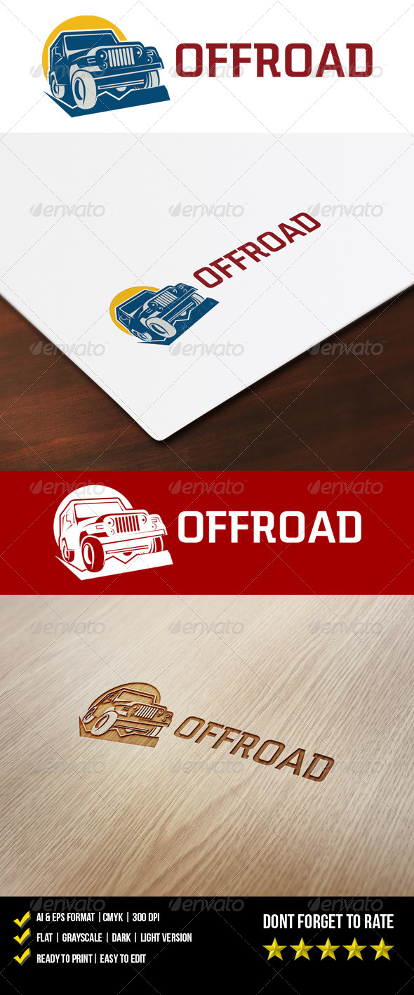 Offroad Logo - Objects Logo Templates