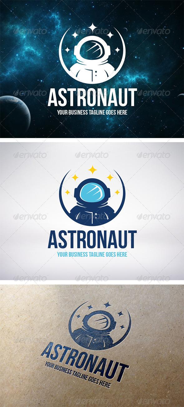 Astronaut Logo Template - Humans Logo Templates