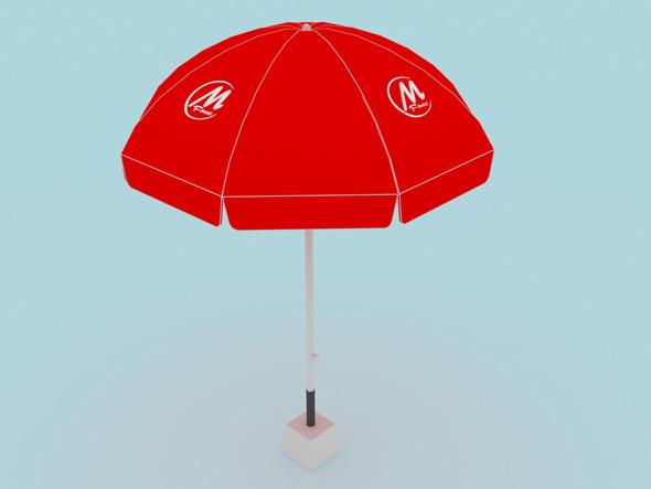 Parasol - 3DOcean Item for Sale