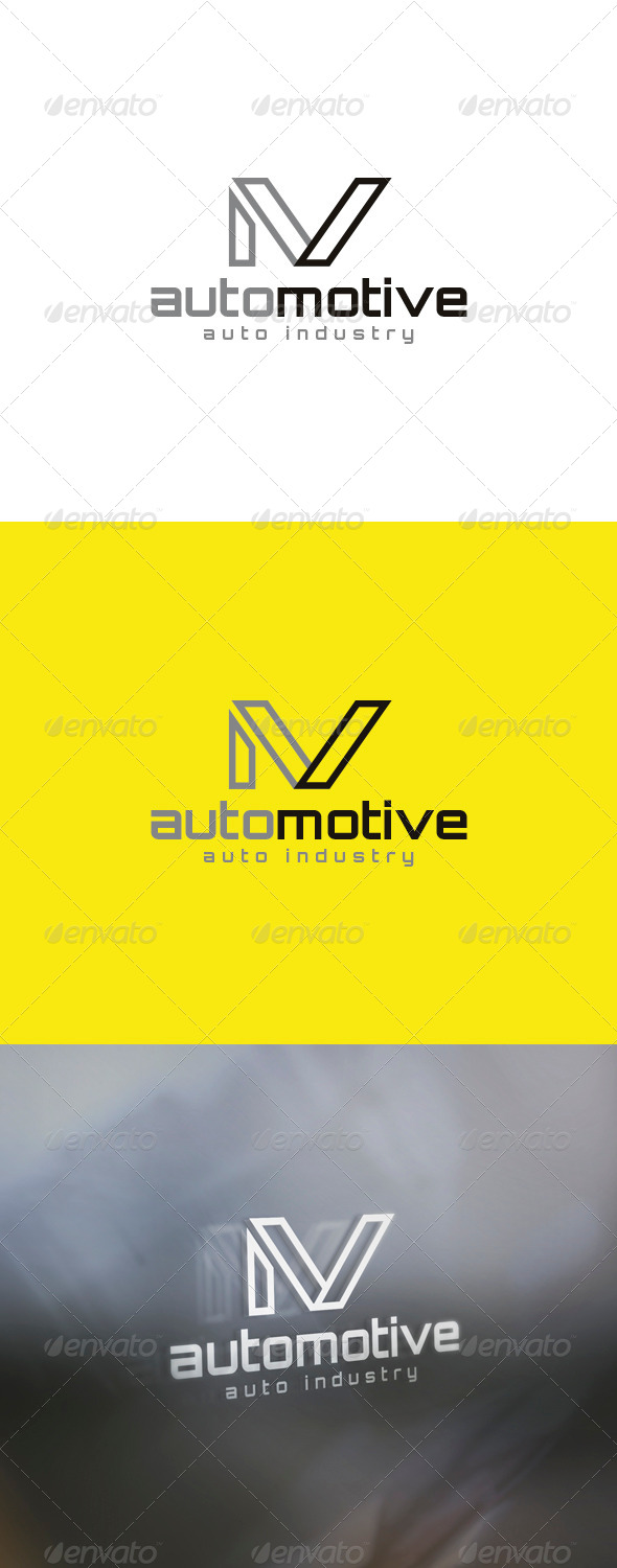 GraphicRiver Auto Motive Logo 6002808