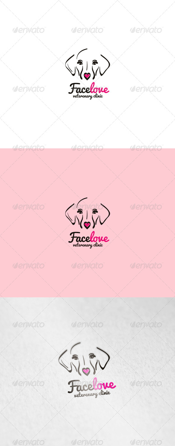 GraphicRiver Facelove Logo 6002942