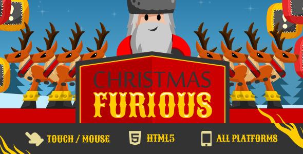 Game Christmas Furious - CodeCanyon Item for Sale