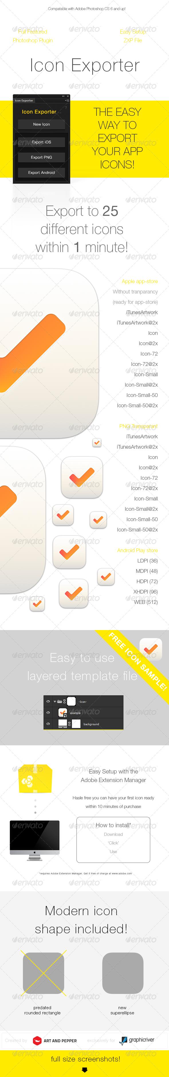 GraphicRiver Icon Exporter 5994815