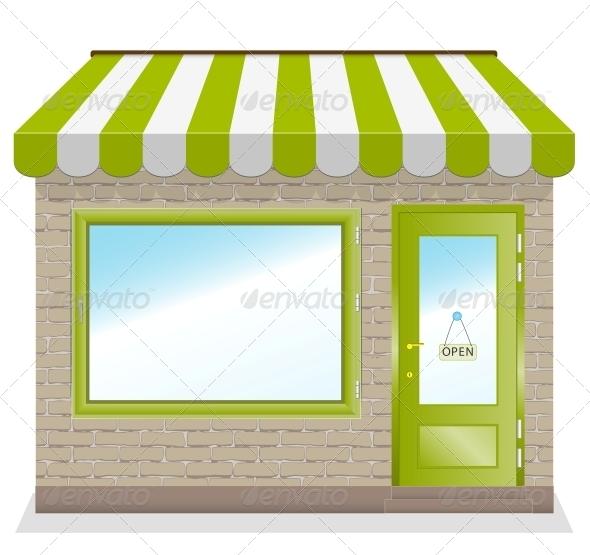 GraphicRiver Shop Vector 6009429