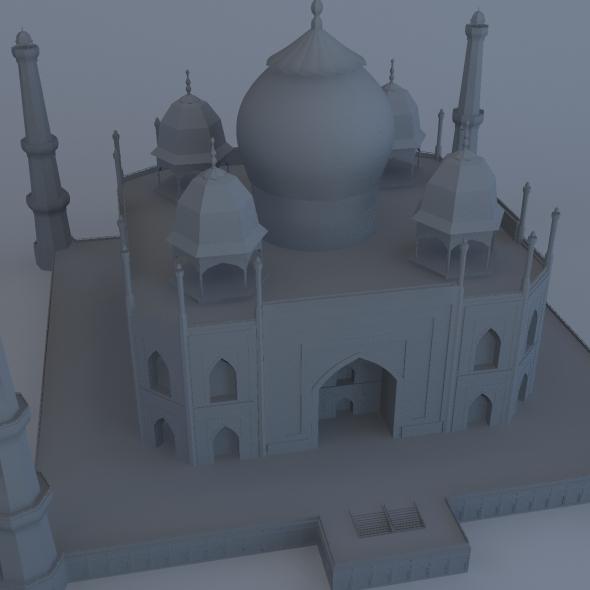 3DOcean Taj Mahal 6009525
