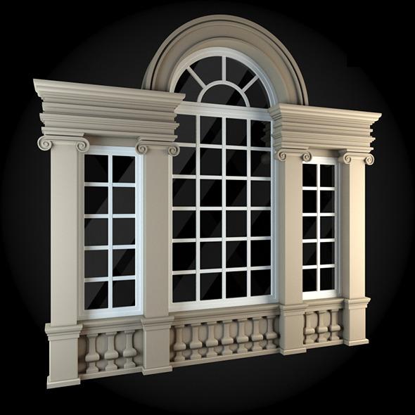 3DOcean Window 073 6009555