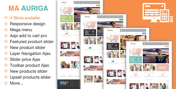 ThemeForest Auriga Fashion Responsive Magento Theme 6010192