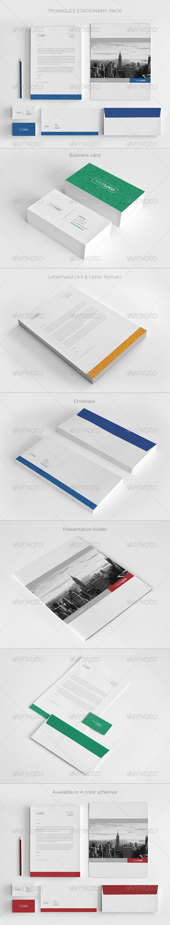 GraphicRiver Real Estate Stationary Pack 6010200
