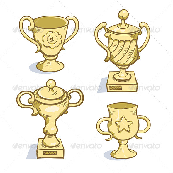 GraphicRiver Gold Trophy Collection 6010428