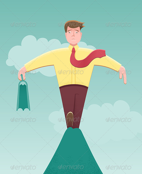 GraphicRiver Taking a Business Risk 6010523