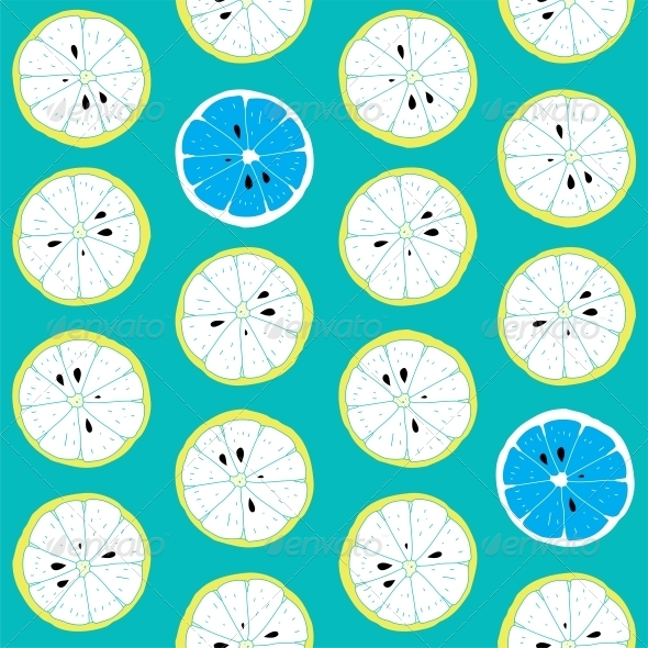 GraphicRiver Seamless Citrus Pattern 6010708