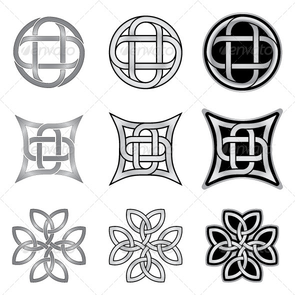 GraphicRiver Celtic Knots Models and Patterns 6010906