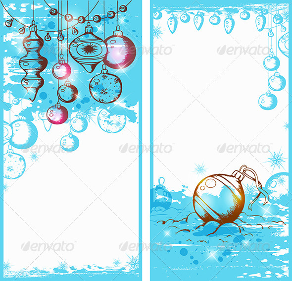 GraphicRiver Christmas Banners 6011040