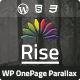 Rise | Onepage Responsive Parallax Theme - ThemeForest Item for Sale