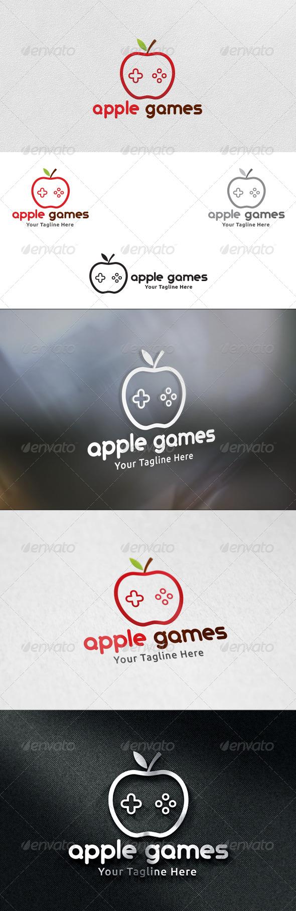 Apple Games - Logo Template