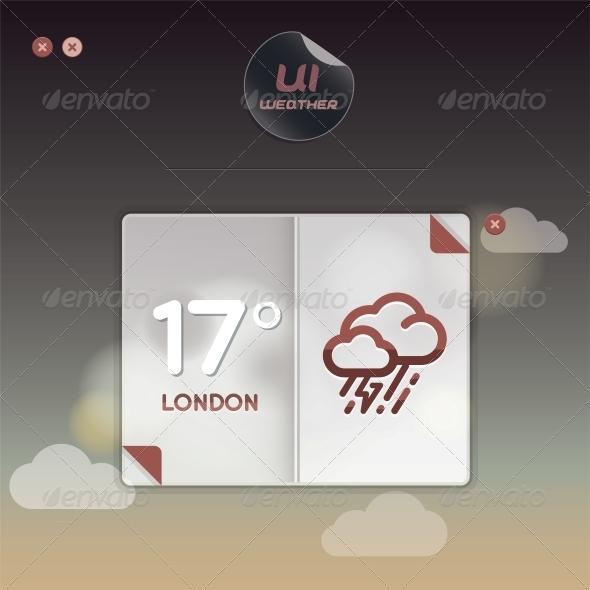 Weather Widget Illustration