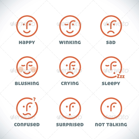 GraphicRiver Smiles Icons 6011802