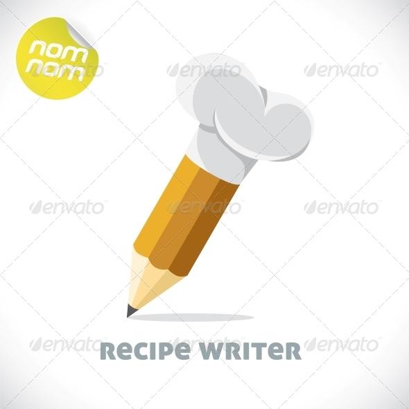 Recipe Writer Illustration