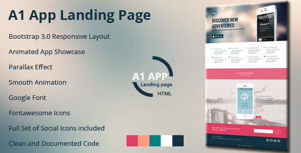 A1 App Landing Page