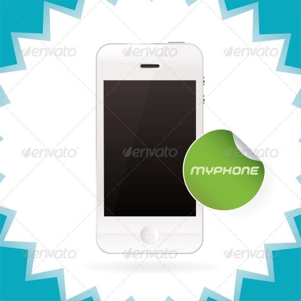 GraphicRiver Vector Mobile Phone Illustration 6012597