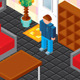 Home Planning. Isometric Vector Kit - GraphicRiver Item for Sale