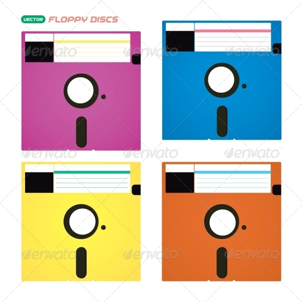 GraphicRiver Floppy Disks Illustrations 6012899