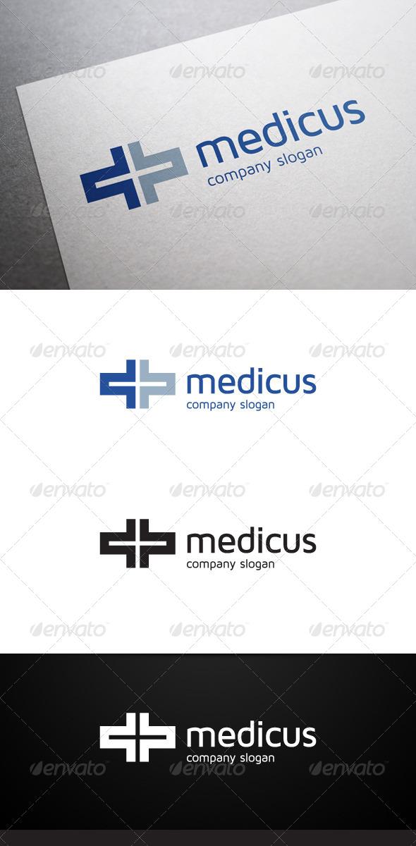 GraphicRiver Medicus Logo 6013454