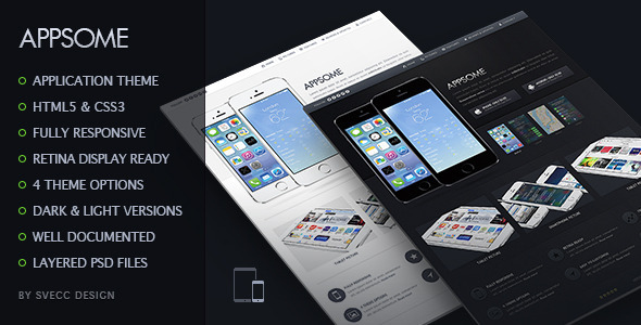 ThemeForest AppSome Responsive & Retina Ready App Theme 5995301