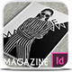 Indesign B/W Magazine - GraphicRiver Item for Sale