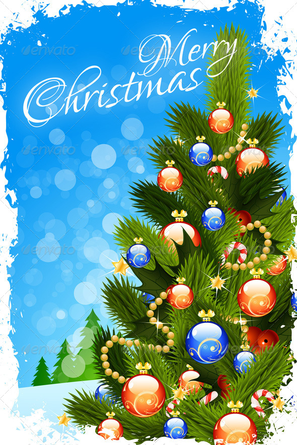 GraphicRiver Christmas Card 6014588