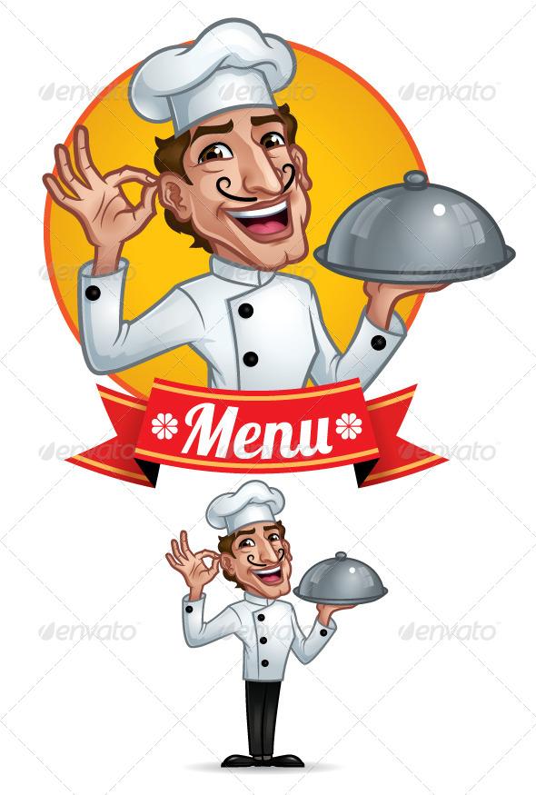 GraphicRiver Chef 6014676