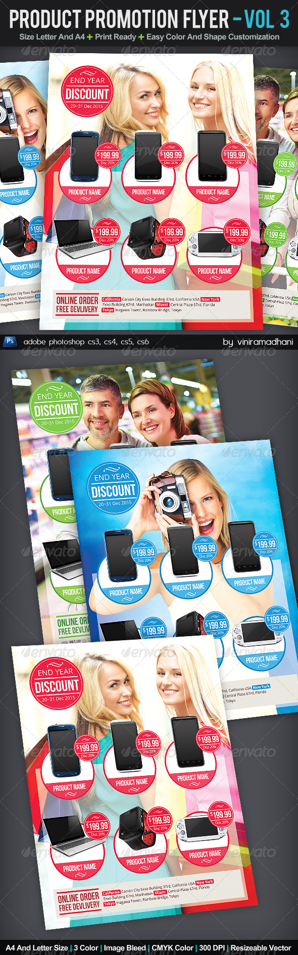 GraphicRiver Product Promotion Flyer Volume 4 6014708
