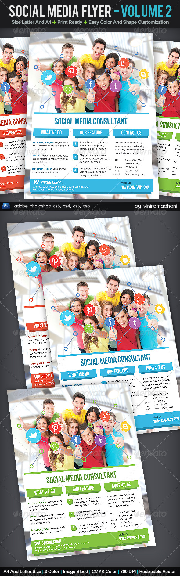 GraphicRiver Social Media Flyer Volume 2 5988695