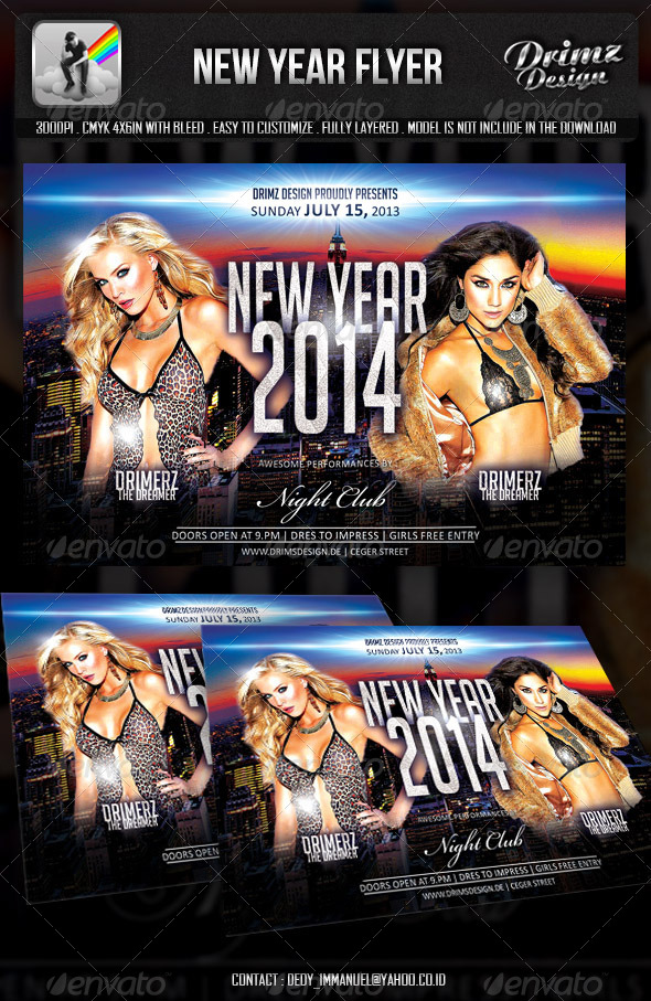GraphicRiver New Year Party 6015007